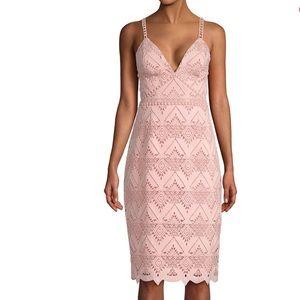 STYLESTALKER Elora Strappy Midi Dress Size XS NWT